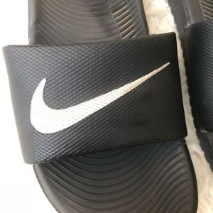 Nike Shoes - Nike unisex kids youth slides sandals black